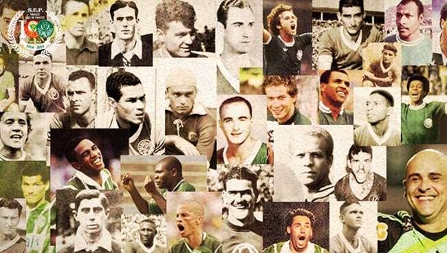 Em dia de festa, Palmeiras celebra um século de glórias