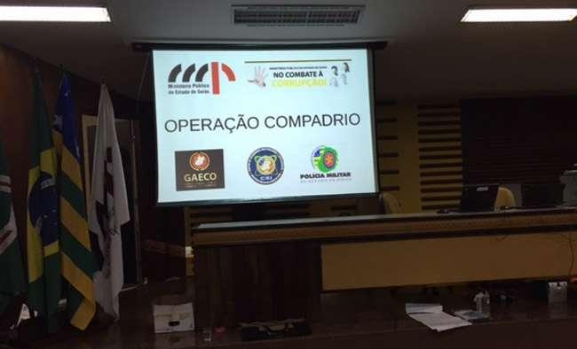MP deflagra segunda fase da Operação Compadrio