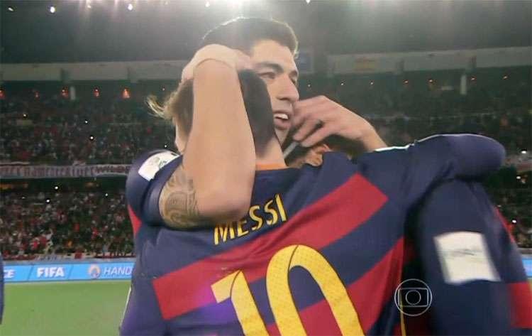 Com trio ofensivo de volta , Barcelona faz novo 3 a 0, agora no River, e fatura Mundial