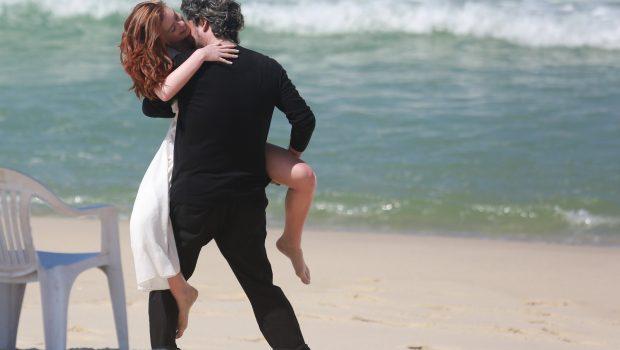 'A gente se dá bem, mas é só profissional', diz Marina Ruy Barbosa sobre suposto 'affair'