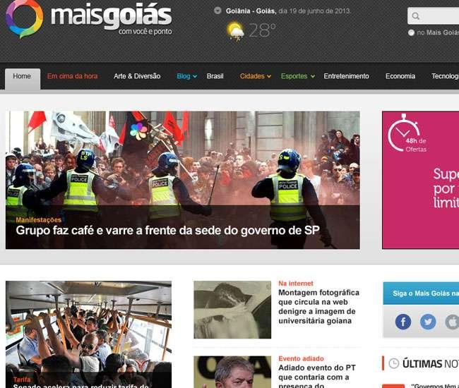 Mais Goiás lança novo portal ainda mais inovador