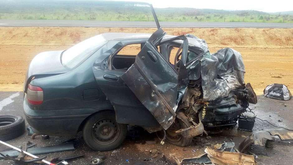 Sargento do Exército morre em colisão frontal na BR-050