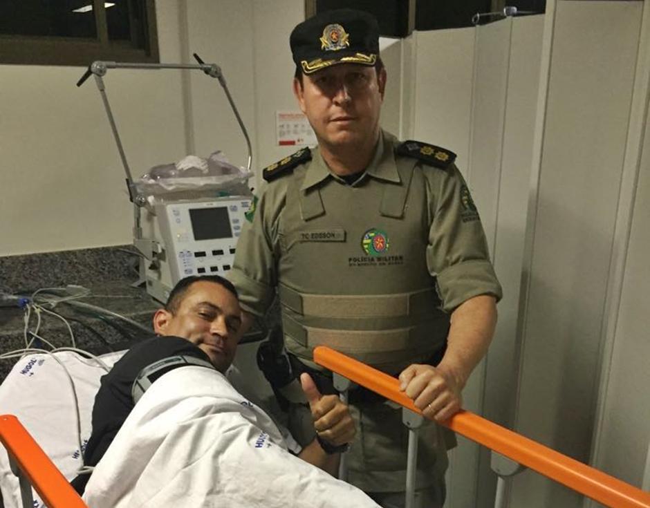 PM reage a assalto e é baleado no residencial Solar Ville