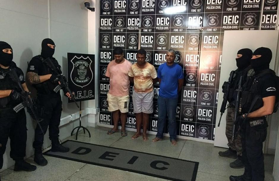 Polícia prende últimos suspeitos de assaltar banco e fazer refém em Alto Paraíso de Goiás