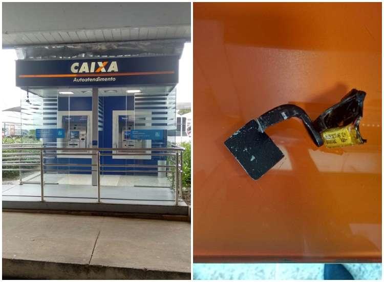 """Policial encontra """"chupa cabra""""  em caixa eletrônico no Aeroporto"""