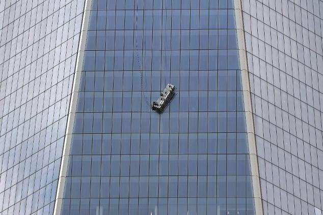 Trabalhadores são resgatados do World Trade Center