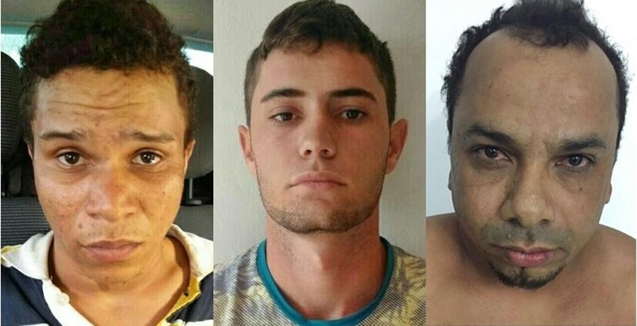 PM prende três suspeitos do roubo ao carro forte em Minaçu