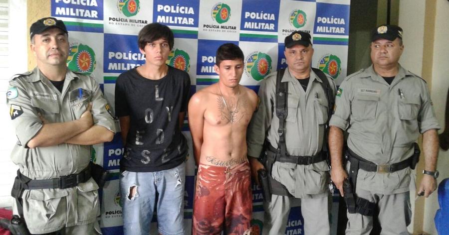 PM prende quadrilha envolvida no assalto a posto de gasolina em Cristianópolis