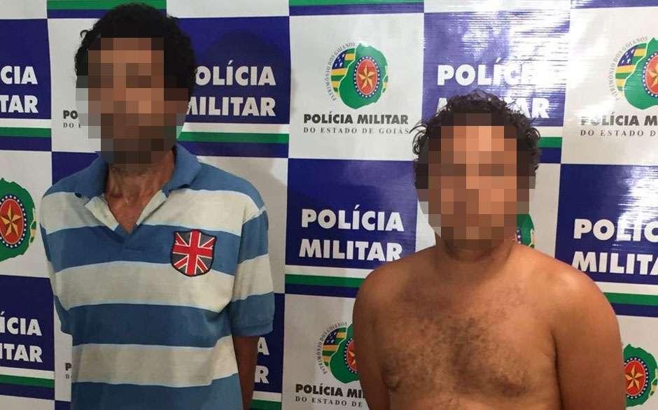 Marido e amigo são presos após torturar e estuprar mulher, em Goiânia