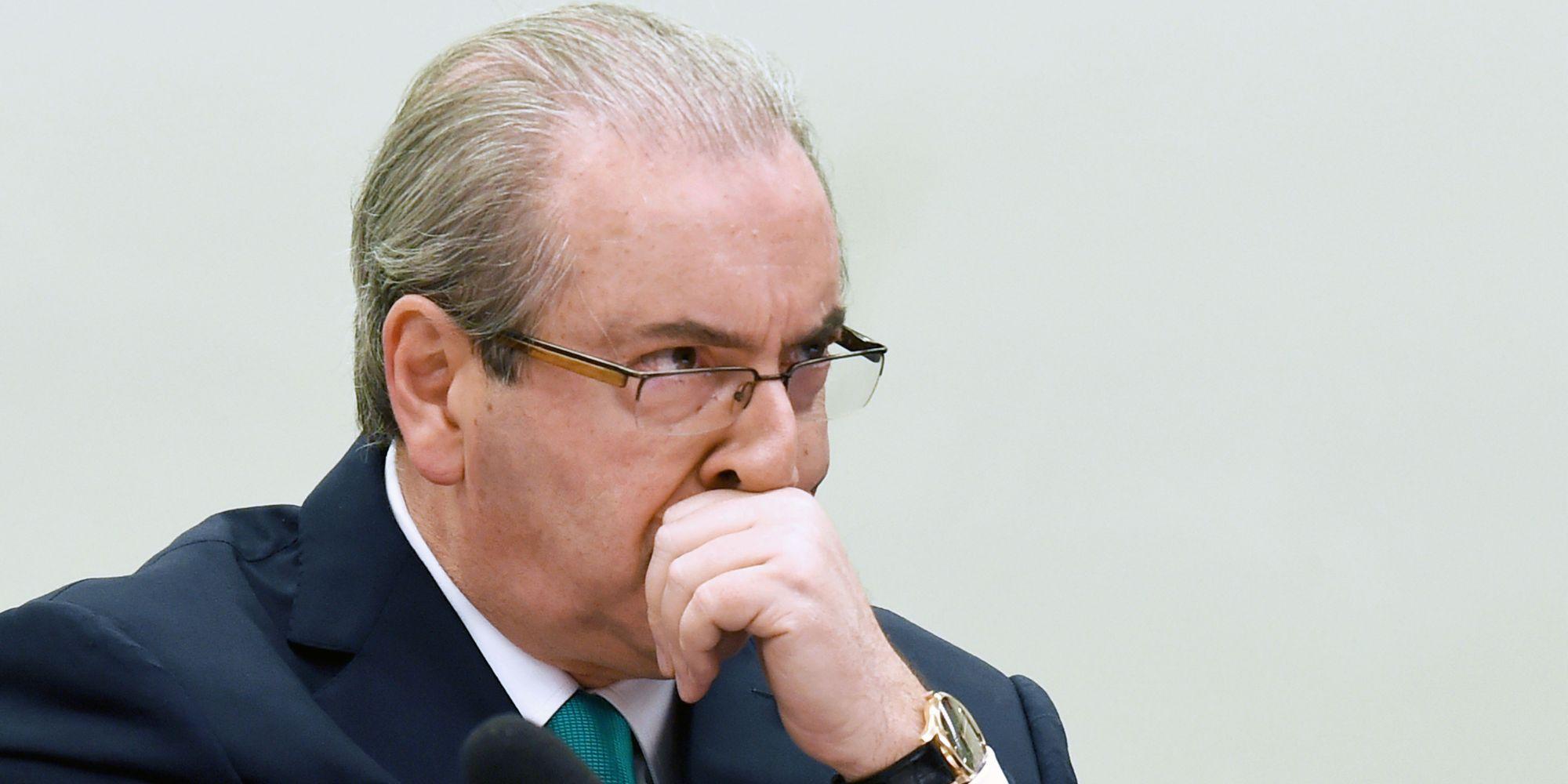 Ministério Público criminaliza doações eleitorais, diz Cunha em depoimento