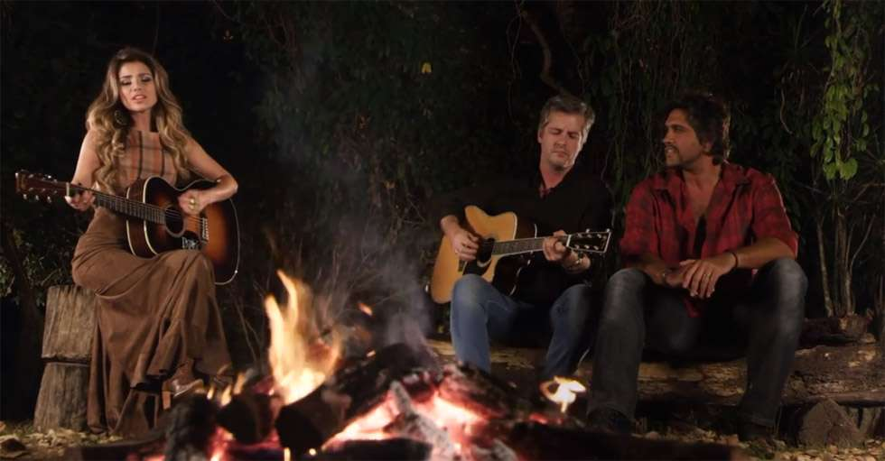 Divulgado o videoclipe da música Depois, com Paula Fernandes e Victor e Léo