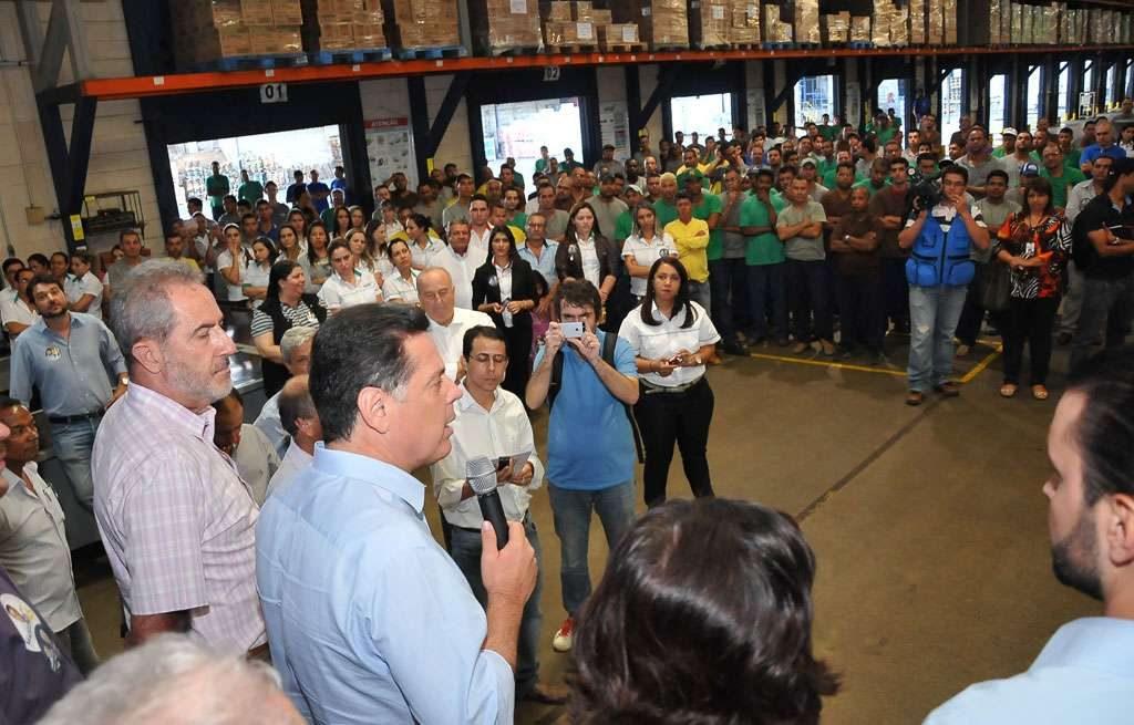Em Anápolis, trabalhadores apresentam sugestões e demandas ao governador