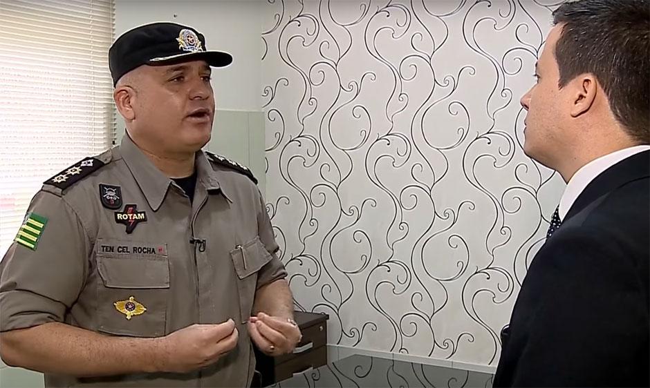 Em entrevista à TVSD, Tenente-coronel Ricardo Rocha fala sobre Operação Sexto Mandamento