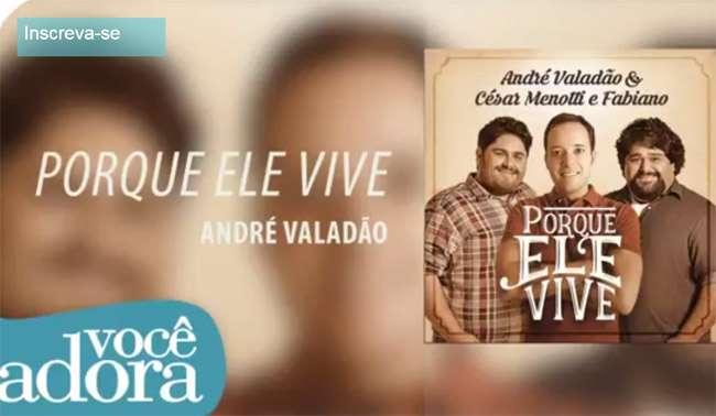 André Valadão lança música com César Menotti e Fabiano