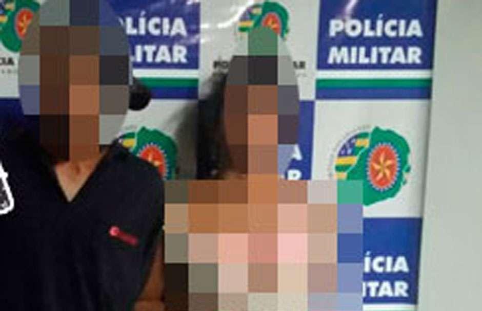 Casal é preso após roubar documentos e celular no Setor Pedro Ludovico