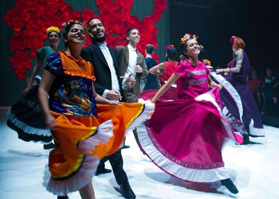 """Espetáculo de dança contemporânea """"Cartas de Frida"""" é apresentado no Centro Cultural UFG"""