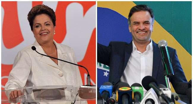 Datafolha: Dilma oscila para 52% e Aécio a 48%