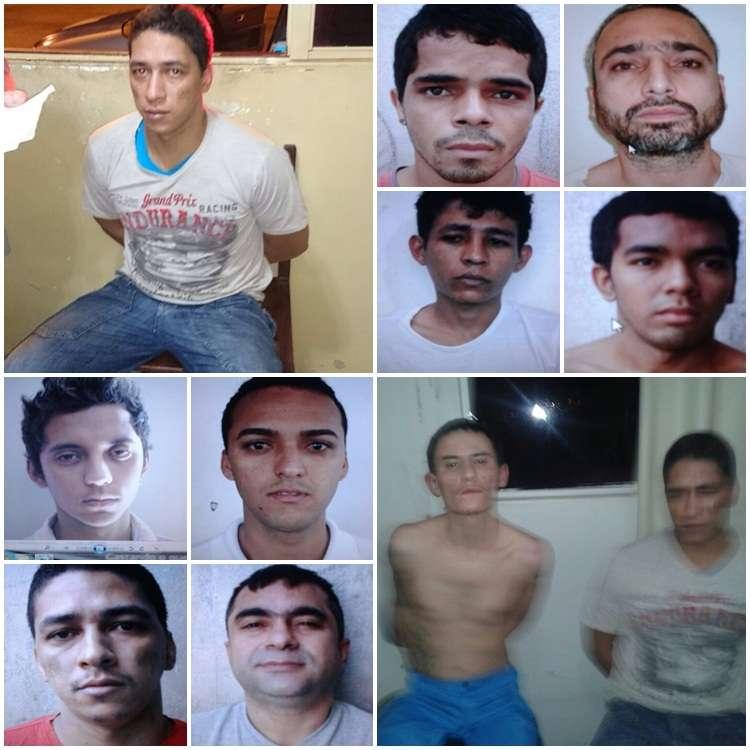 Polícia recaptura quatro presos que fugiram do presídio de Morrinhos