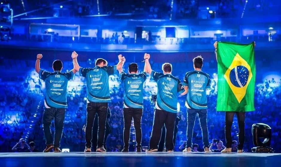 Brasileiros vencem campeonato de CS:GO