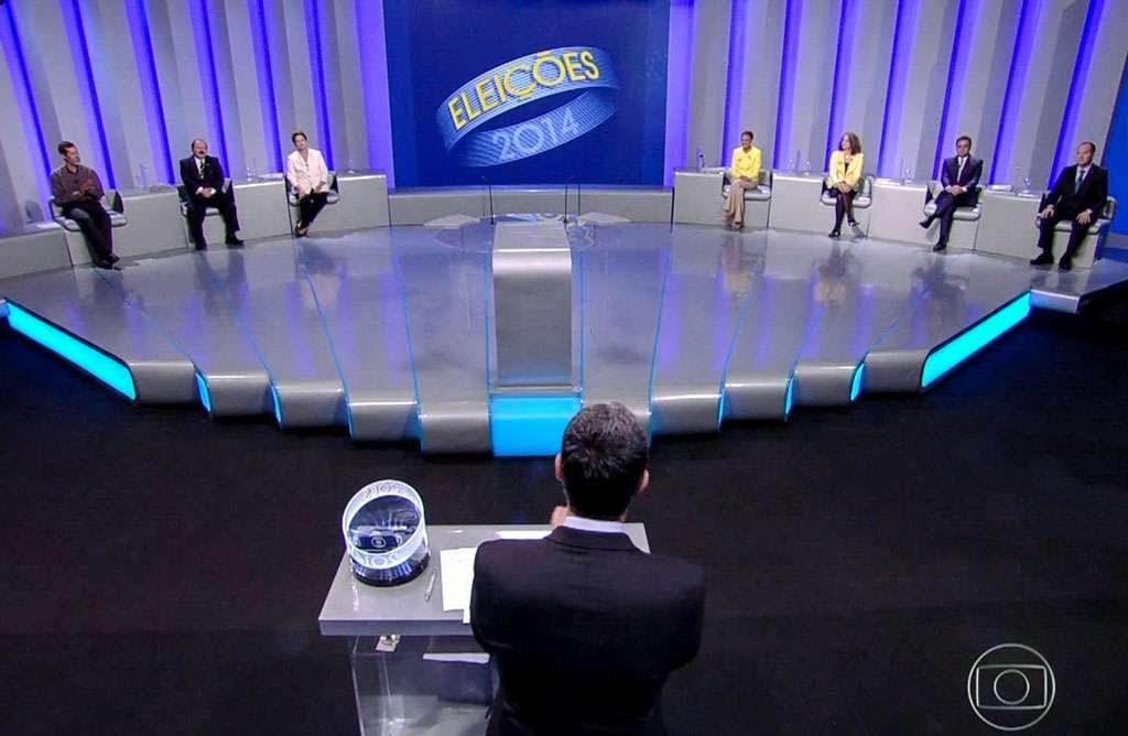 Debate na Globo é aberto com pergunta sobre Petrobras