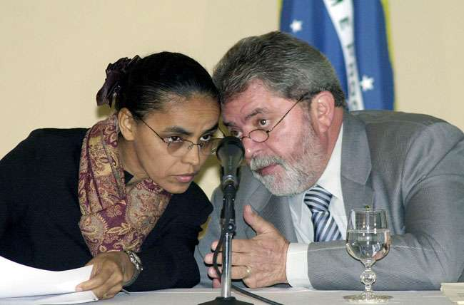 Para Lula, Marina era o 'Pelé' do ministério