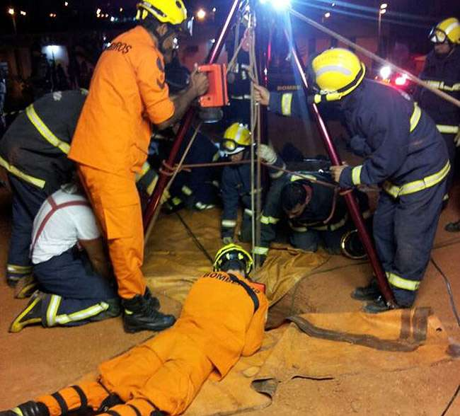 Criança de 11 anos cai em poço de 12 metros de profundidade em Valparaíso