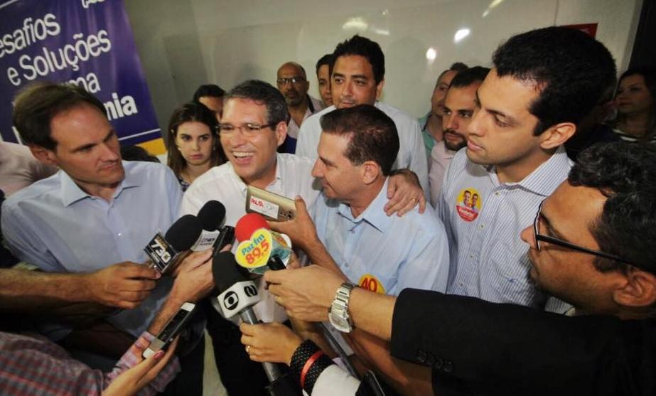 """""""O momento em Goiânia é pró-Vanderlan"""", diz Francisco Jr ao confirmar apoio"""