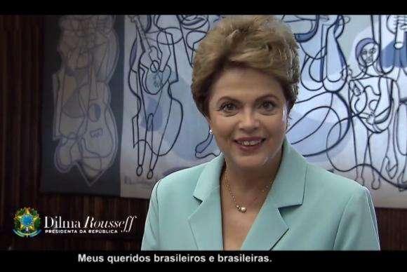 """Dilma: Brasil """"está de braços abertos"""" para receber refugiados"""