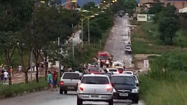 Homem morre após ser levado por enxurrada em Goianésia