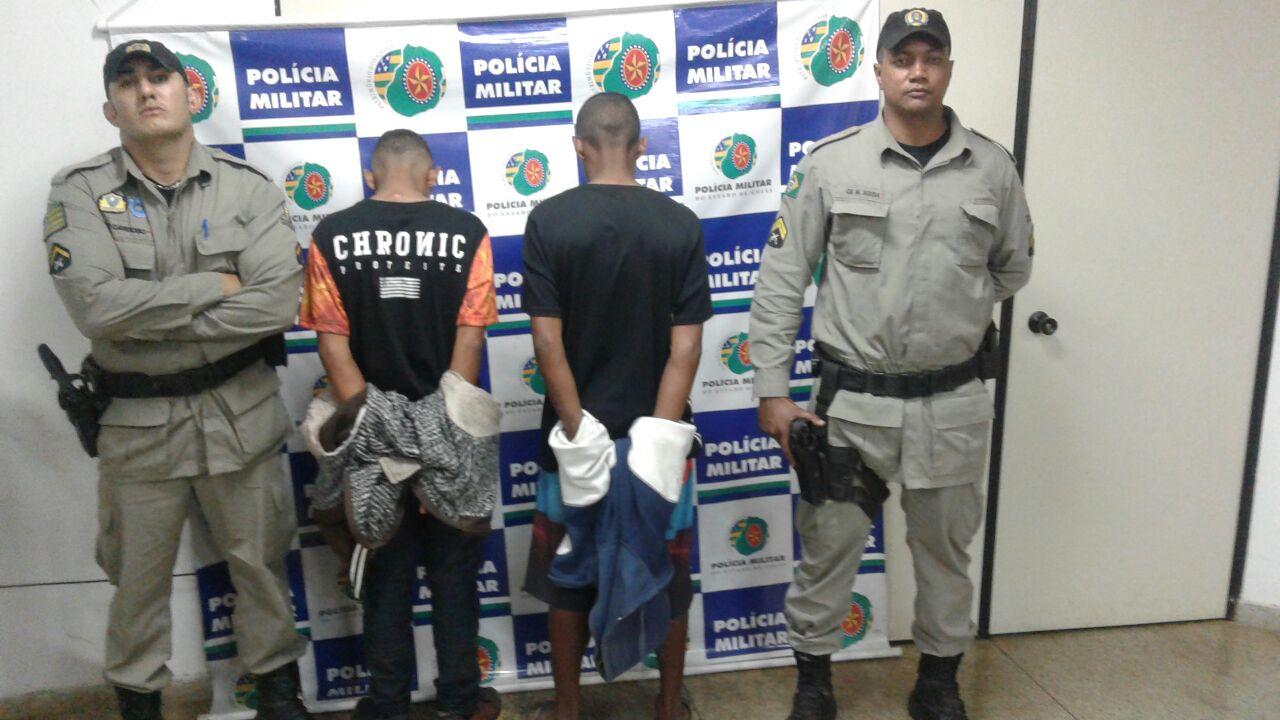 Polícia Militar localiza assaltantes e recupera veículo, em Aparecida de Goiânia