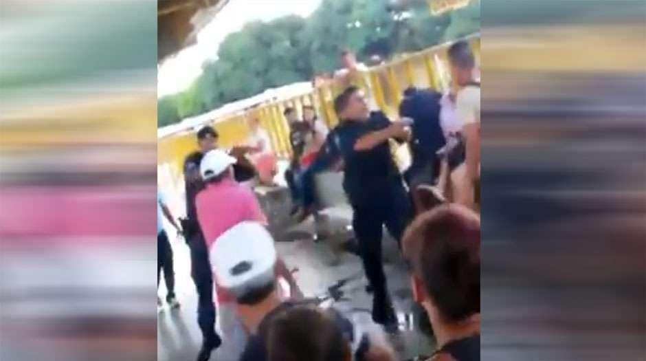 Ação da Guarda Civil contra camelôs termina em confusão no Terminal Padre Pelágio