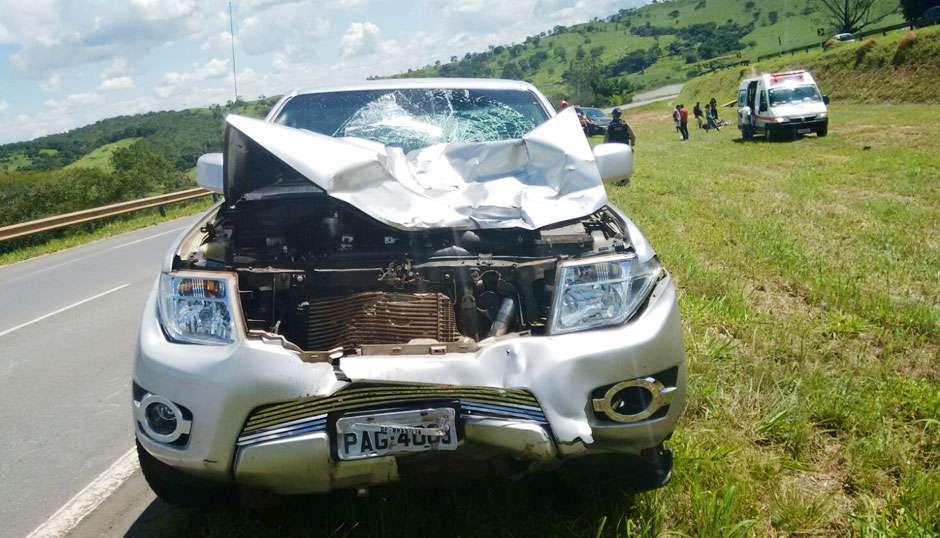 Mulher morre  em acidente na BR-060