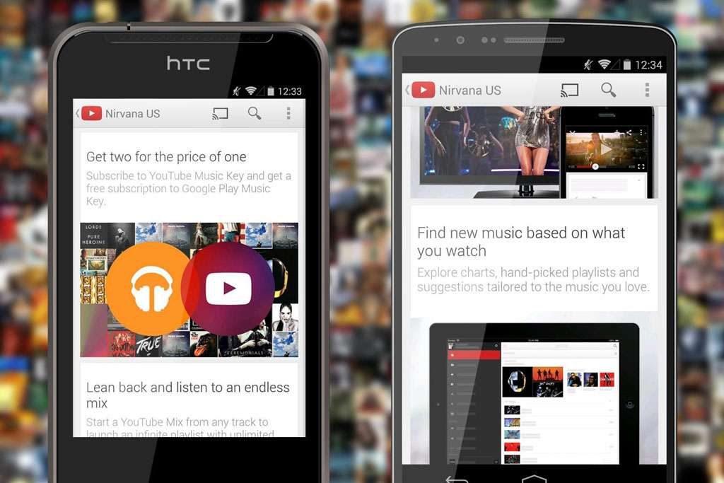 Google lança o YouTube Music Key com foco em vídeos de música