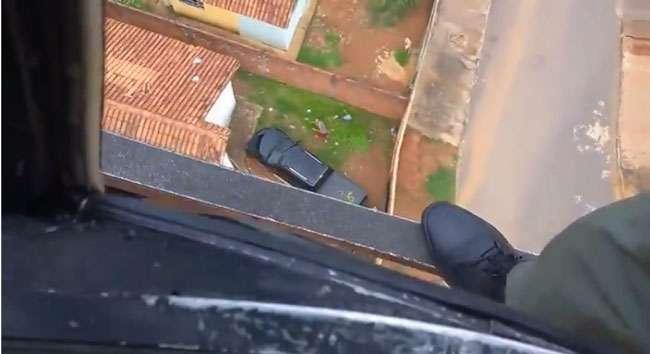 Graer recupera carro roubado e prende ladrão em Senador Canedo
