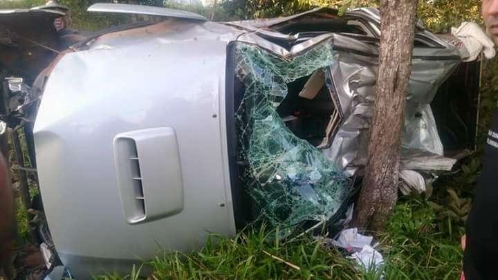 Acidente na GO-326, próximo a Sanclerlândia, deixa uma criança morta e três feridos