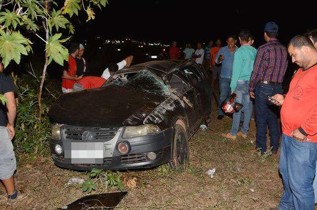 Uma pessoa morre e duas ficam feridas em acidente na GO-060, em Iporá