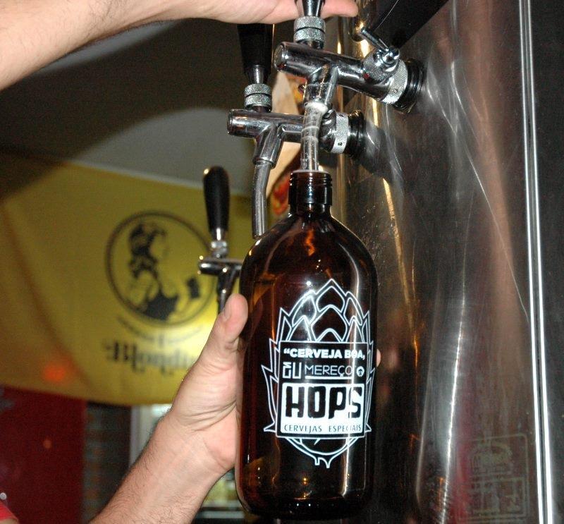 Hops Cervejas Especiais promove Chope no Shopping