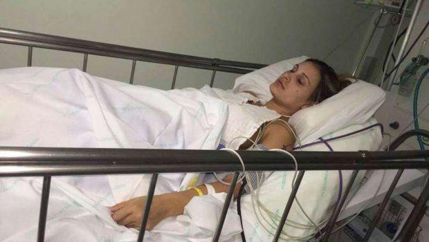 Fotos de Andressa Urach no hospital são divulgadas