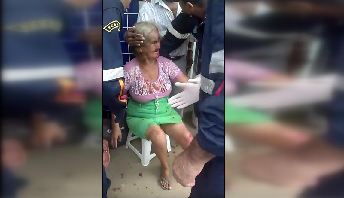 Polícia procura homem que agrediu idosa no Centro de Minaçu
