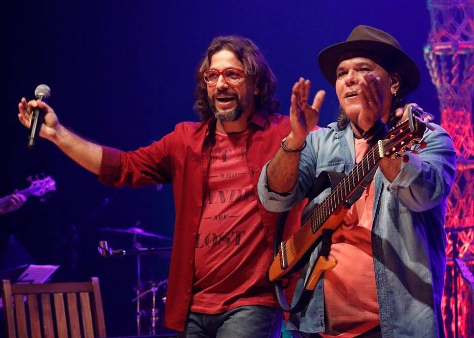 Pádua e Tom Chris fazem show Por Outros Cantos