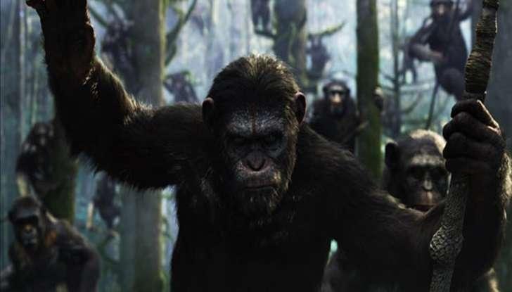 """""""Planeta dos Macacos: o Confronto"""" fatura alto nas bilheterias"""
