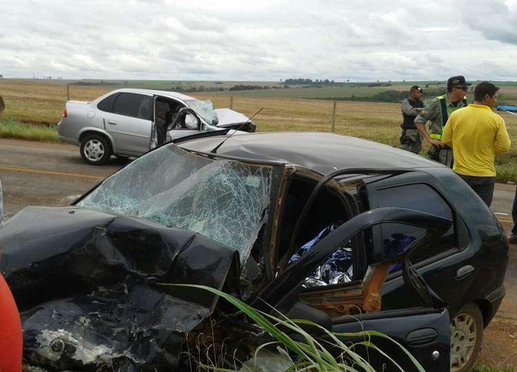 Duas pessoas morrem em acidente na GO-010