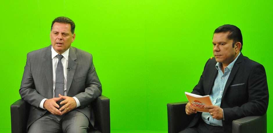 Entrevista, Marconi lamenta queda do nível de emprego no Brasil