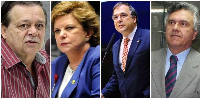 Os deputados 'cabeças' de Goiás