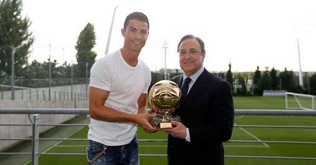 Cristiano Ronaldo é eleito o melhor jogador da Europa