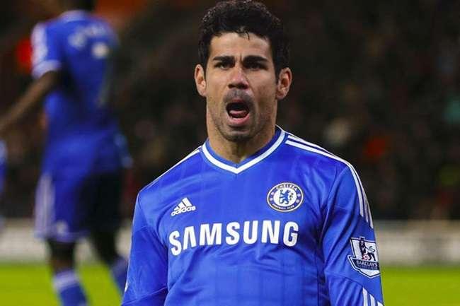 Diego Costa faz golaço e Chelsea é vice em triangular
