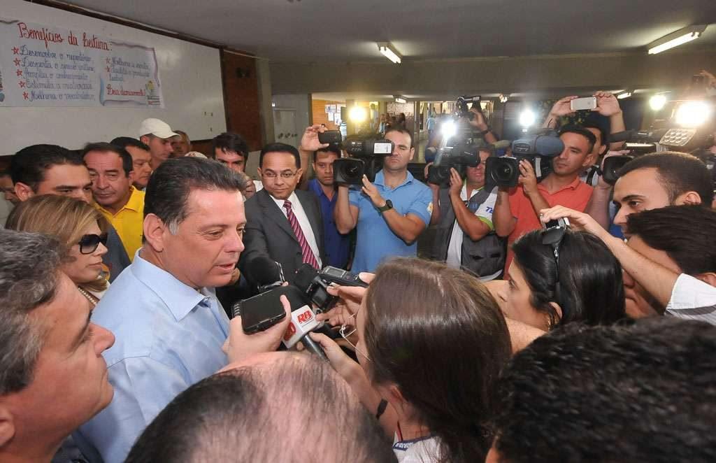 Marconi vence em 95% dos municípios goianos