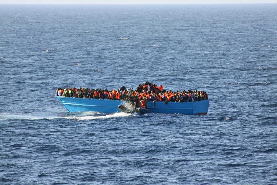 Quase 4 mil imigrantes morreram no Mediterrâneo em 2016