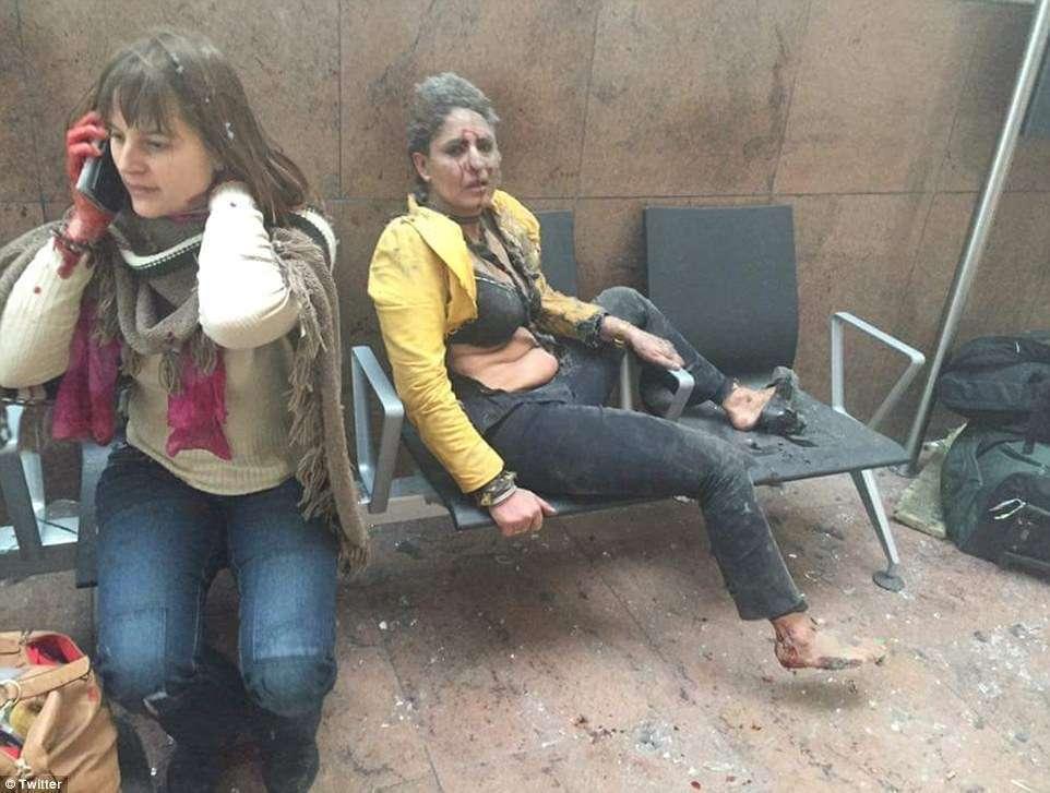 Ataques terroristas deixam dezenas de mortos e feridos em Bruxelas, na Bélgica