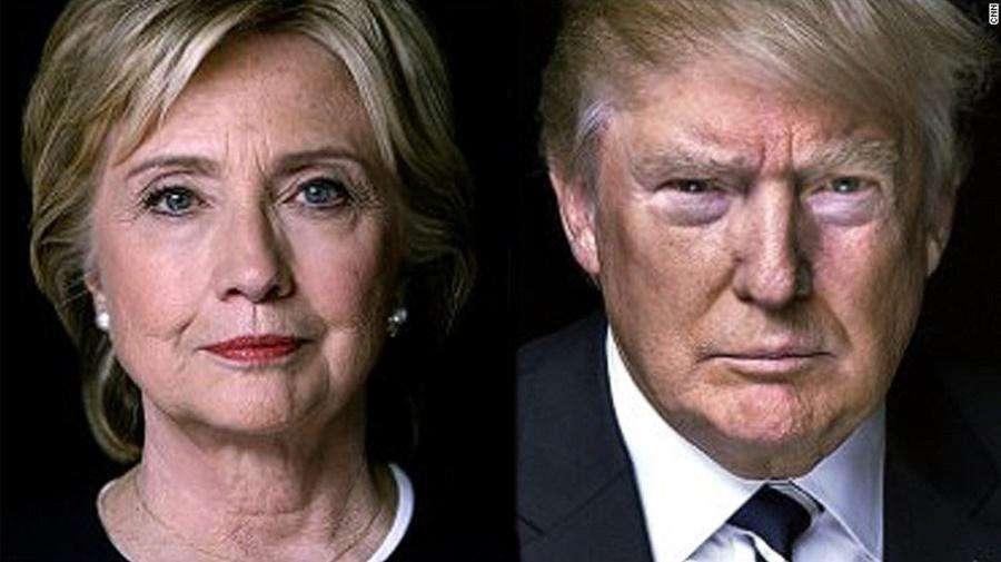 Hillary e Trump aparecem em empate técnico na disputa presidencial dos EUA